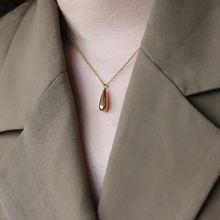 Женское ожерелье с подвеской на ключице amaiyllis 18 К золотое