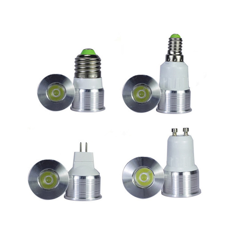 MR11 <font><b>LED</b></font> Light <font><b>Bulb</b></font> 3W <font><b>12V</b></font> 35mm Diameter Bright Mini Spotlight <font><b>Bulb</b></font> GU5.3 GU10 <font><b>LED</b></font> Lamps 220V 110V COB <font><b>E27</b></font> E14 image