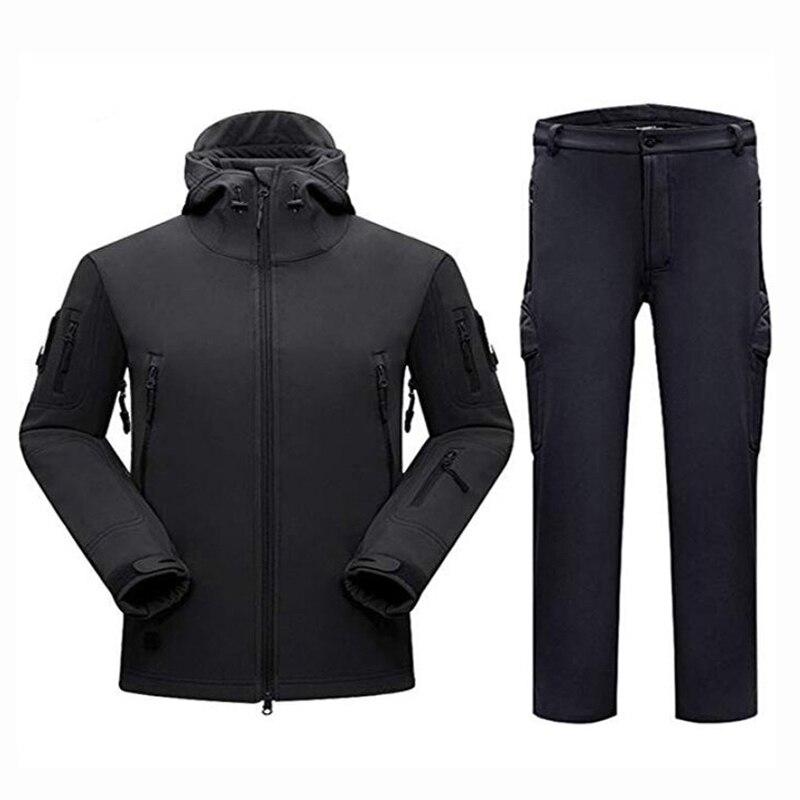 Мужская тактическая куртка TAD Softshell, военные костюмы, камуфляжная охотничья одежда, куртка или штаны, для занятий спортом на открытом воздух...