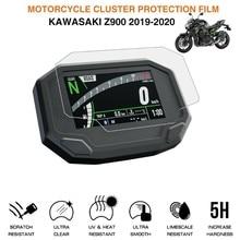Cluster proteção contra riscos da motocicleta filme protetor de tela caso para ninja650 z650 z900 2020 acessórios moto