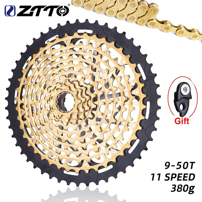 ZTTO NEW 11 Speed 9-50T Bicycle Cassette ULT 11s MTB 9T XD Hub Full steel Mountain Bike 11 speed Sprocket Flywheel Bicycle parts(China)