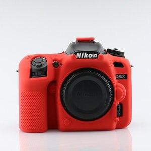 Image 4 - سيليكون درع الجلد DSLR كاميرا الجسم حالة غطاء حقيبة لنيكون Z7 Z6 D780 D3500 D5300 D5500 D5600 D7100 D7200 D7500 D750 D3400