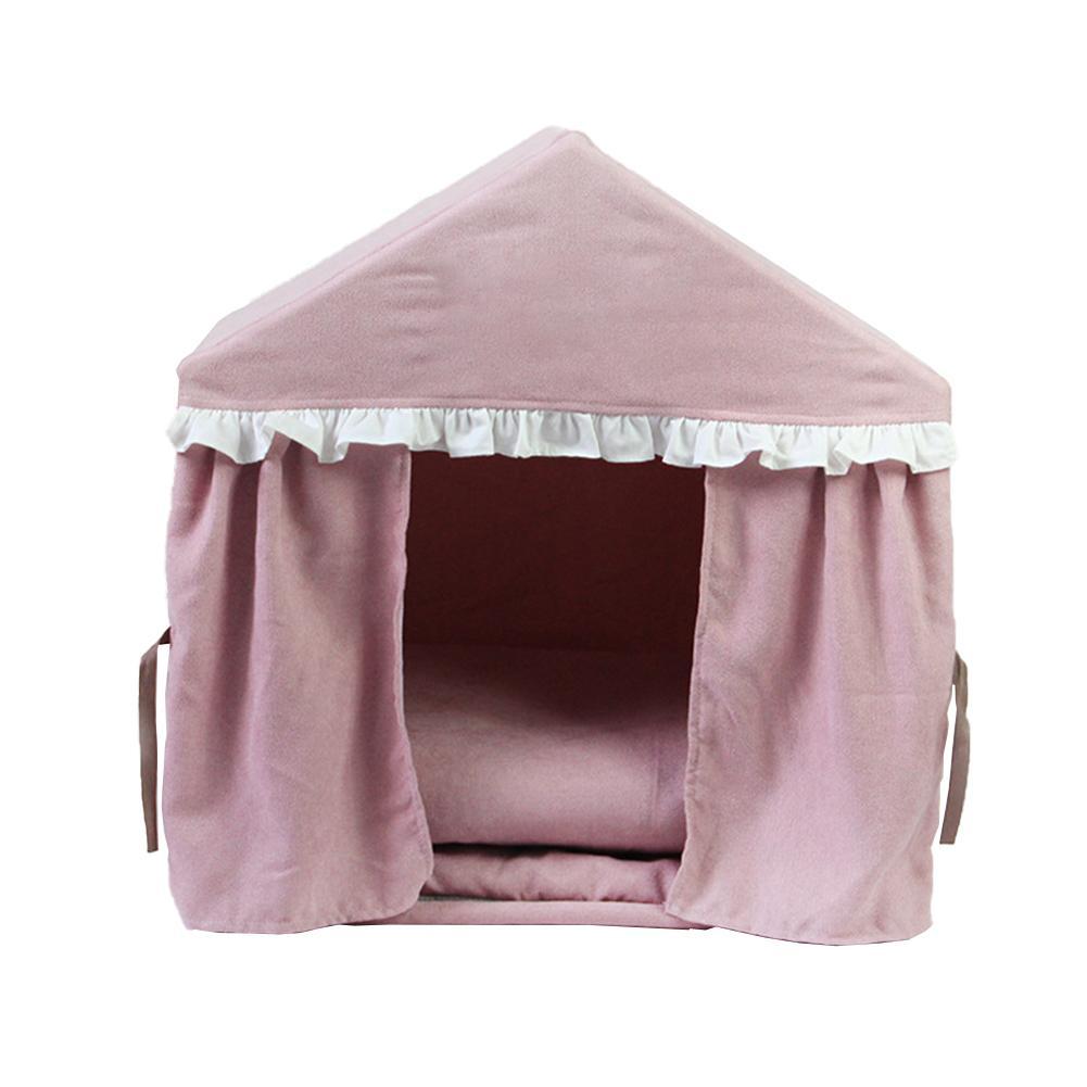 Nouveau Portable pliable chien de compagnie tente détachable tente pour animaux de compagnie maison chaude pour les petits chiens moyens chats lit animal de compagnie nid chien fournitures