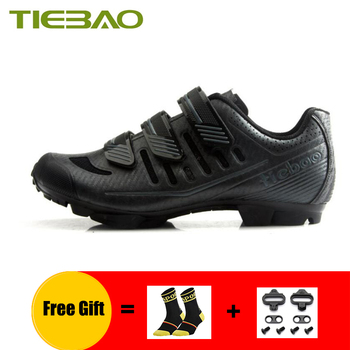 TIEBAO mountain bike Shoes men breathable pro cycling sneakers self-locking superstar outdoor mtb bicycle riding bike shoes