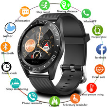 New Fashion Sport men smart watch IP68 waterproof For IOS Android phone smartwatch Heart Rate Monitor Blood Pressure Functions(China)