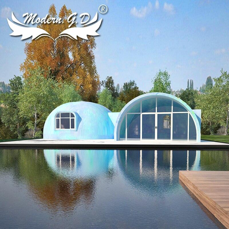 Easy Install Graphene Dome House Modular Structure Speeding House