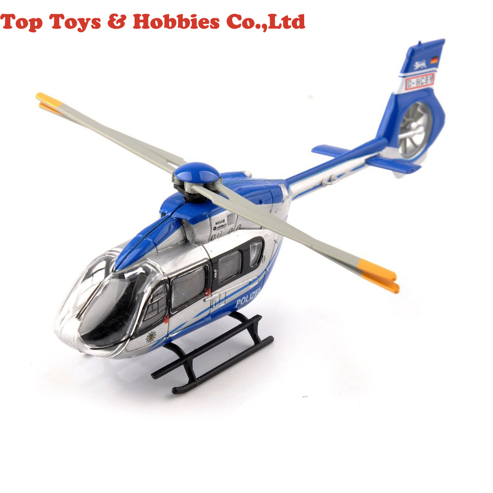 Toys for Children 1/87 Scale Airbus Helicopter H145 Polizei Schuco Aircraft Model Airplane Model for Fans Children Gifts image