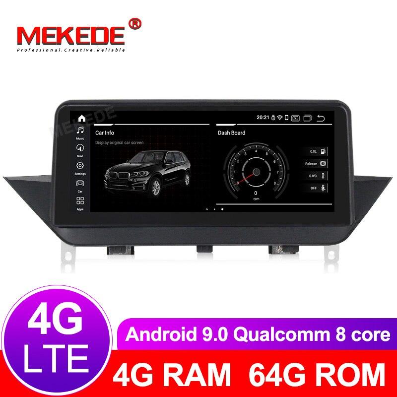Núcleos 8 64 4G + G android leitor Multimédia 9.0 Carro Autoradio apto para BMW X1 E84 2009- 2015 com gps navigation 4G LTE wifi BT navi