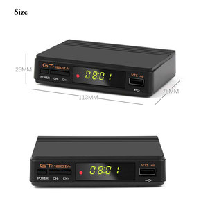 Image 2 - Hot sale Satellite TV Receiver Gtmedia V7S HD Receptor Spain DVB S2 Satellite Decoder Freesat V7 HD