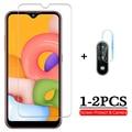 Закаленное стекло для Samsung Galaxy A01 2020, Защита экрана для samsung a01, a 01, объектив камеры 5,7 дюйма, защитное стекло, 1-2 шт.