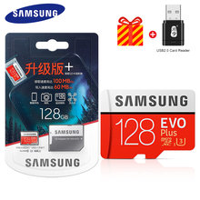 Carte Mémoire SAMSUNG EVO 32G 95 MB/S SDHC MicroSD 64 GO 128 GO 256 GO 4K 100 MB/s SDXC Classe 10 Micro SD C10 UHS TF Trans Cartes Flash