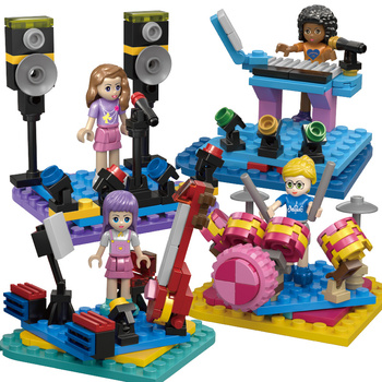 Princess Building Blocks Series Set Gifts Toys Friends Educational Bricks Model Toy For Girls Friends lepin 36004 the christmas glass ball set 241pcs creative series building blocks bricks educational toys child diy gifts 40223