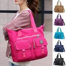 MAIOUMY женская сумка через плечо с несколькими карманами Новая Модная Портативная сумка для путешествий на молнии многофункциональная Больш...