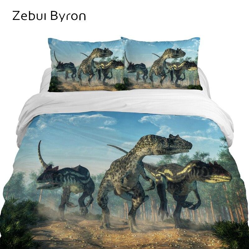 Home /& Main Velociraptor Boys Quilt and Pillow Sham Set
