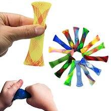 Novidade fidget mash e gestão de rede de mármore usando a descompressão de vidro mármore aperto autismo terapia alívio do estresse mão
