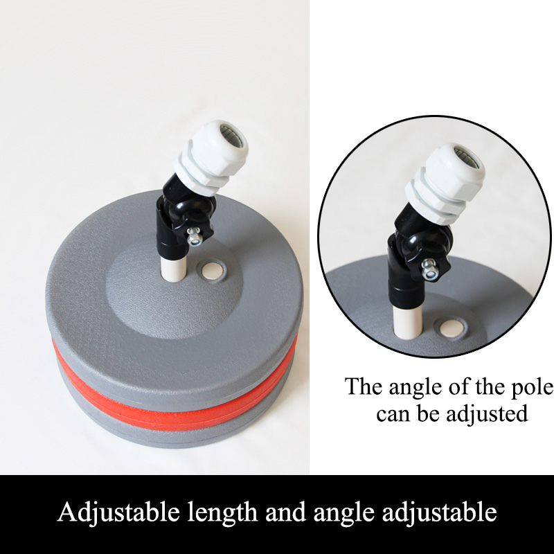 Adult Children Badminton Trainer Portable Telescopic Elastic Adjustable Self-Study Rebound Power Base Practice Training Device