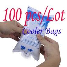100 шт/лот многоразовый гелевый пакет для льда охлаждающий высокого
