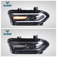 VLAND factory high quality for car head lamp for Charger LED headlight 2015 2016 2017 with plug and play