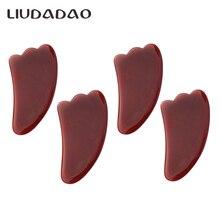 Red Carnelian Guasha Tools Natural Face Wands Massager Beauty Health Wo