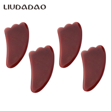 Red Carnelian Guasha Tools Natural Face Wands Massager Beauty Health