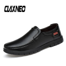 Buy CLAXNEO Man Shoes Slipons Summer Autumn New Mens Leather Shoe Genuine Leather Loafers Male social Footwear Moccasins directly from merchant!