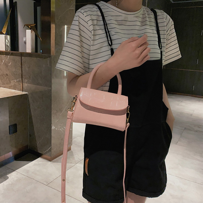 H5eaa300e94f44e03b8d4ebea4e5f5499N - New Women Shoulder Messenger Bag Ladies Handbags Casual Solid PU Leather Handbag Fashion Ladies Party Handbags Clutch