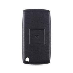 Image 5 - Keyyou 20x2 botões remoto flip carro chave do escudo fob para peugeot 307 308 107 207 407 408 com sulco ce0523