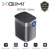 XGIMI Halo Mini Portable Projector With 17100mAh Battery 1080P Full HD Android 9