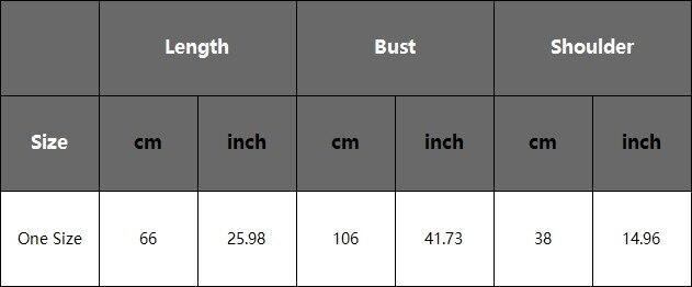 尺码表-APP