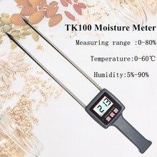 TK100 Portable Digital Multifunctional Moisture Meter For Grains,Chemical , Plastic Granule, Soap Powder, Soil  30%off