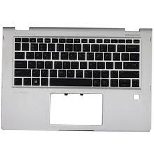 For HP Elitebook X360 1030 G2 Laptop Palmrest Upper Case US Backlight Keyboard 904507-001