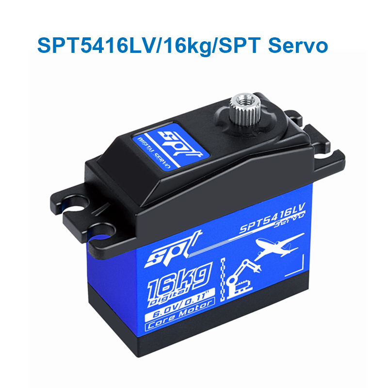 SPT Steering gear 16kg SPT5416LV High speed Metal gear Digital Servo for <font><b>1:10</b></font> <font><b>RC</b></font> Car Boat robot Fixed-Wing Helicopter image