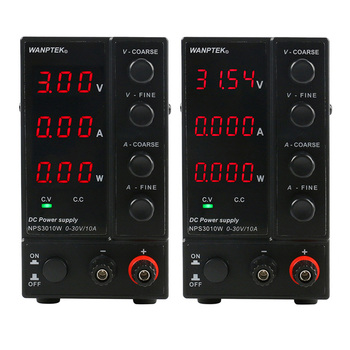 NPS3010W 30V10A Three Display/Four Display Adjustable DC Power Supply Laboratory Mini Switching Voltage Regulated Test Power