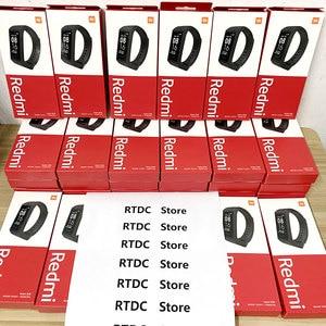 Image 3 - Xiaomi Redmi zespół inteligentny pulsometr Sport Monitor Bluetooth 5.0 wodoodporna bransoletka dotykowy duży kolorowy ekran nadgarstek