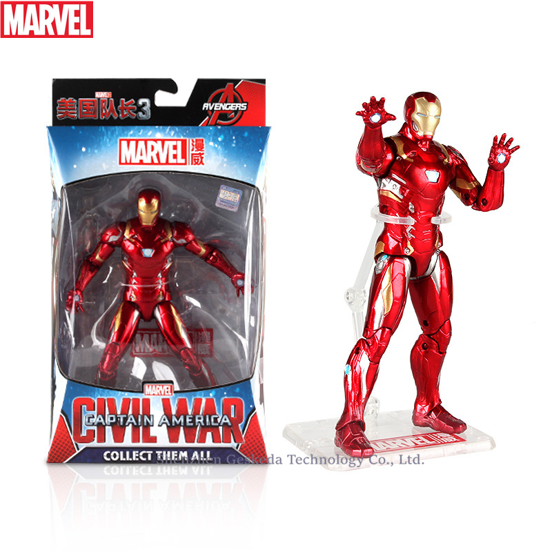 Hasbro Marvel Toys The Avenger Endgame 17CM Super Hero Ant man Thanos Wolverine Spider Man Iron Man Action Figure Toy Dolls in Action Toy Figures from Toys Hobbies