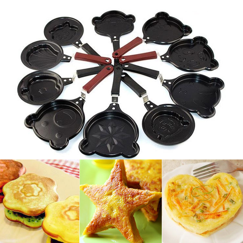 Egg Poacher Pan Pancake Batter Dispenser Crepe Pan Mini Fashion Breakfast Tools Fryer Home Kitchen