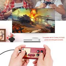 유선 8 비트 TV 빨간색과 흰색 기계 게임 플레이어 핸들 게임 패드 컨트롤러 Coolboy for subor용 NES 게임 재생 신제품