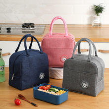 Portable Lunch Bag 2021 New Thermal Insulated Lunch Box Tote Cooler Bag Bento Pouch Lunch Container Food Storage Bags Handbag