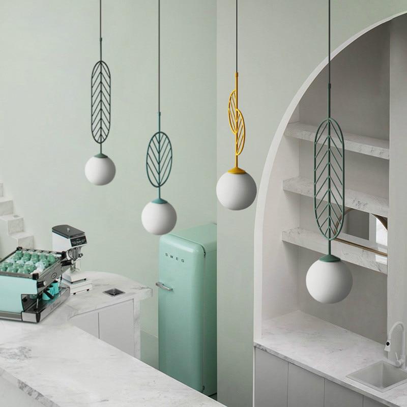 Скандинавское простое светодиодное подвесное освещение, кухонный светильник, промышленный домашний декор, подвесной светильник для дома,