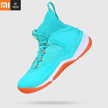 FREETIE Xiaomi Original mijia hollow heel basketball shoes men flying fabric upper twist-proof TPU thick insole high-elastic EVU(China)