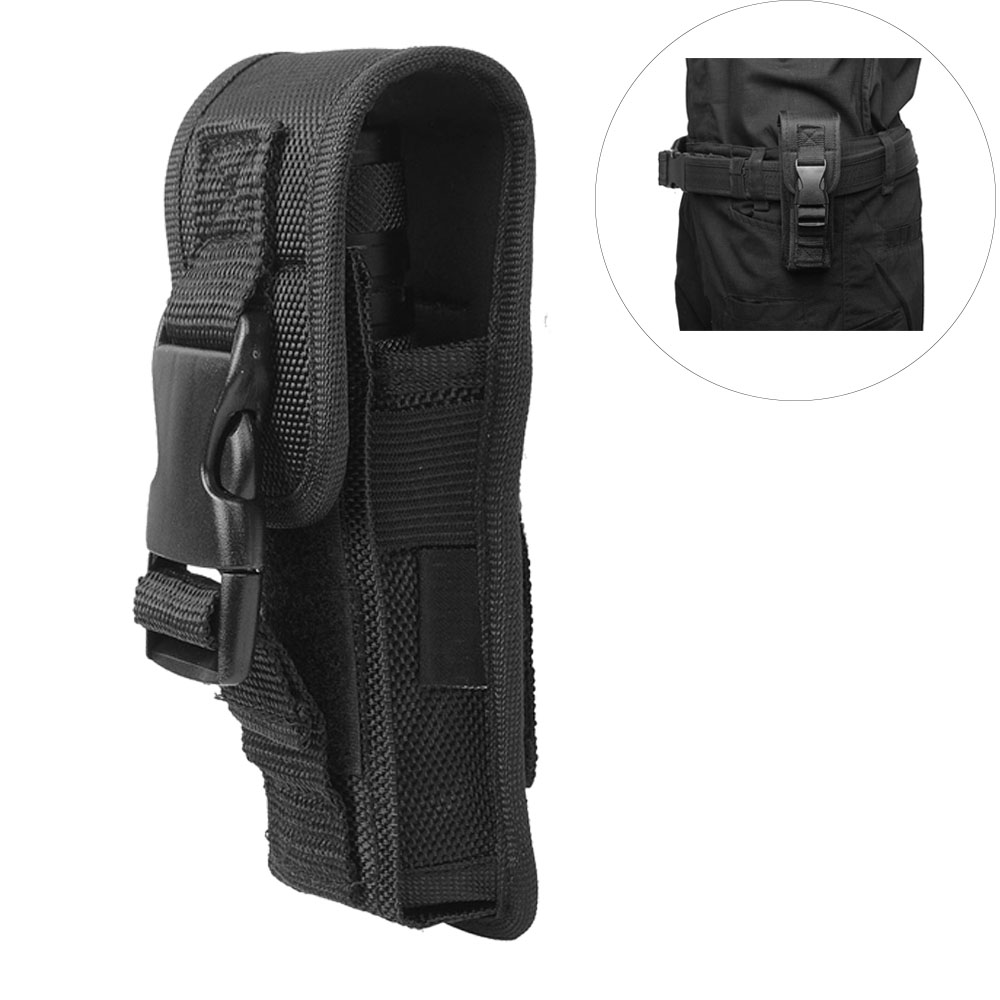 Flashlight Belt Holder Tactical Duty Belt Carry Case Lightweight Portable Pouch For LED Torch Flashlight Protect Holder