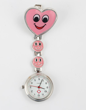Pocket Watch Love Smiley Nurse Family Pocket Watch, Easy To Use, You Can Choose A Variety Of Colors On The Quartz Surface