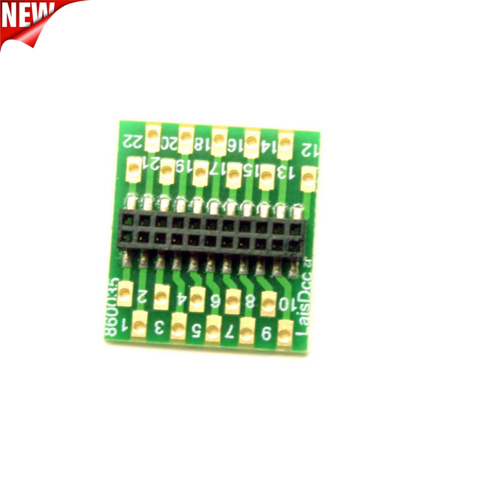 860035 Adaptor board to convert a wire decoder to 21MTC 21PIN Decoder Hard Wire to 21MTC adaptor board/ Brand