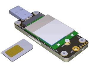 Image 2 - חדש לגמרי Ngff M.2 מפתח B כדי USB3.0 מתאם לוח עבור 3g/4g/5g LTE 3042 3052 WWAN כרטיס גדול Volatge USB3.0 כדי M.2 Riser כרטיס