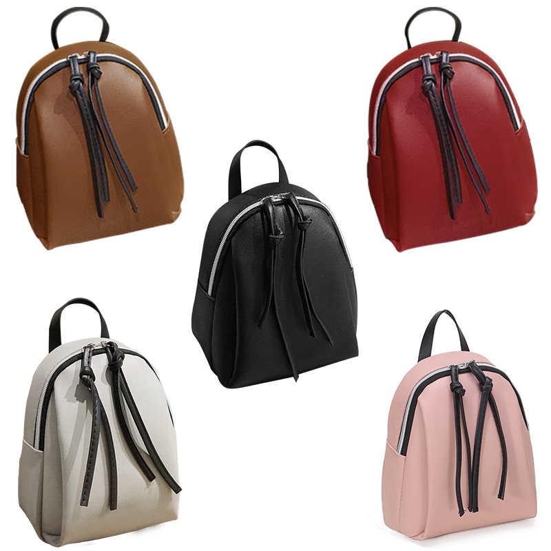 2020 新しい女性スモールバックパック女性革ショルダーバッグ多機能ミニバックパック女性スクール bagpack 十代のための grils