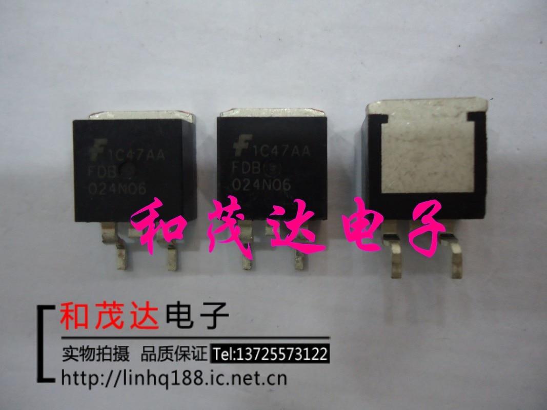 1 шт., новые оригинальные кнопки FDB029N06-263 60V в наличии на складе