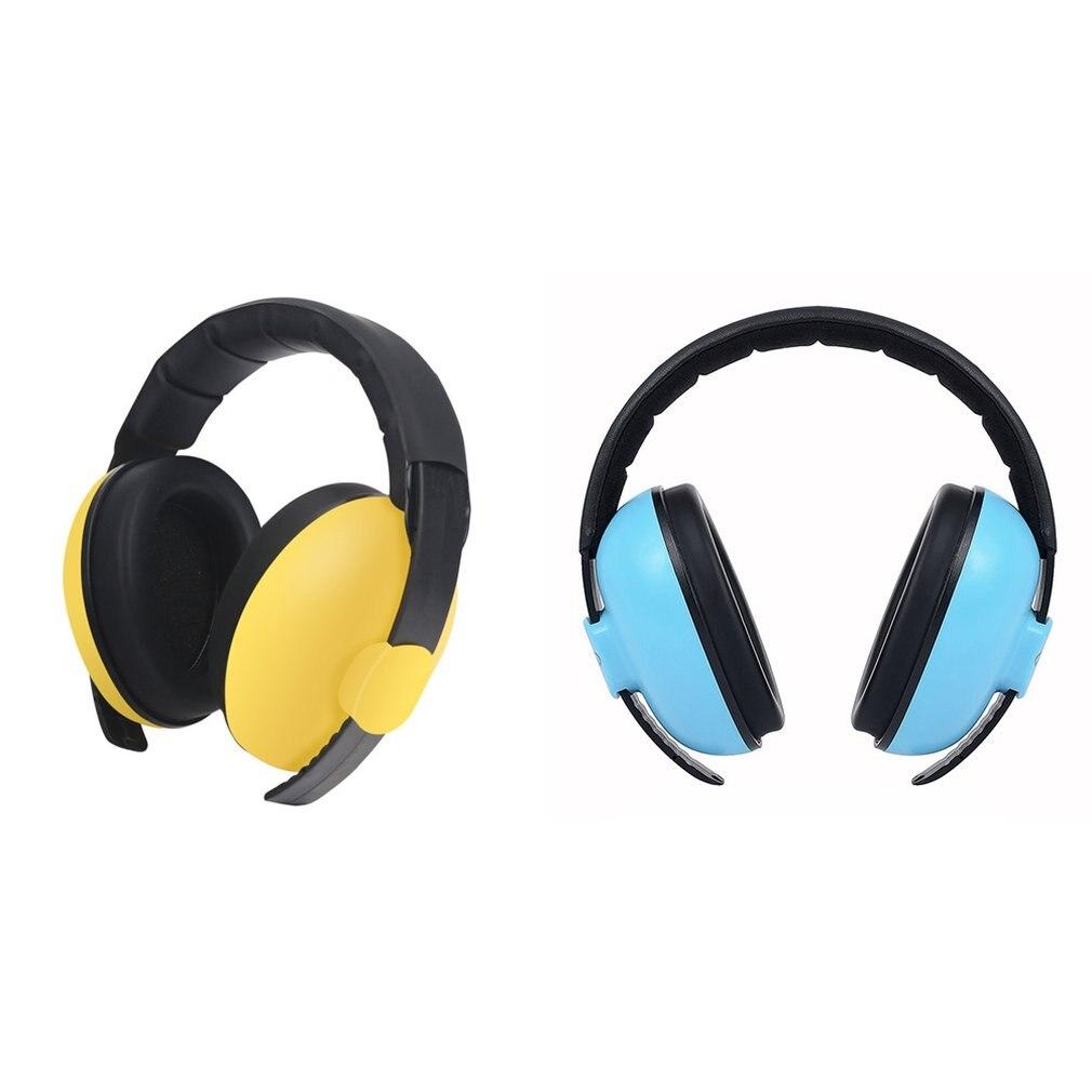 Baby Kids Anti Noise Earmuffs Headset Hearing Protection Ear Defenders Sleeping Headphone Protect Noice Cancel FD