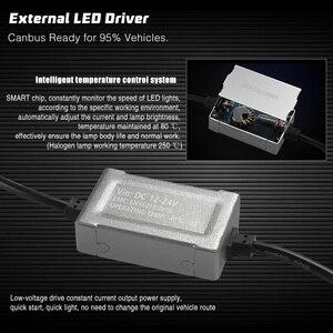 Image 5 - سيارة LED مصباح أضاءه أمامي ضوء مصباح غلوب النحاس حزام 100W 10000LM H7 H1 H8 H9 H11 9005 HB3 9006 HB4 9012 HIR2 H3 H4 مرحبا لو 12V 24V