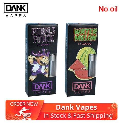 10pcs Dank Vapes Cartridge electronic cigarette atomizers Sunset Sherbet/Durban Poison/Strawberry Cough for 54 Flavors Pakistan