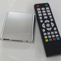 iMice 1080P Mini HD Media Player AV USB SD MMC Multimedia Advertising MKV Car External Video Player US plug